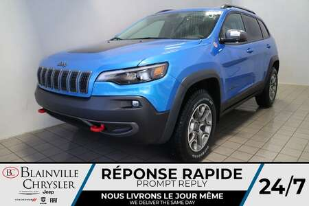 2021 Jeep Cherokee Trailhawk ELITE * CUIR VENTILLÉ * TOIT for Sale  - BC-21259  - Blainville Chrysler