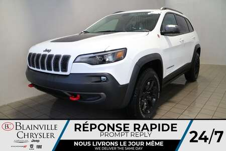 2021 Jeep Cherokee Trailhawk * Int. CUIR & TISSU SPORT * TOIT for Sale  - BC-21178  - Blainville Chrysler