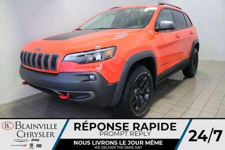 2021 Jeep Cherokee Trailhawk ELITE * CUIR VENTILÉ * TOIT for Sale  - BC-21238  - Blainville Chrysler