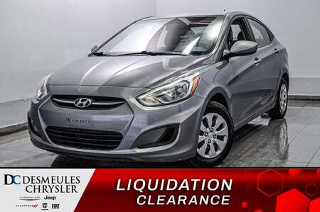 2016 Hyundai Accent SE * ECONOMIQUE * PROPRE * A VOIR for Sale  - DC-S2211  - Blainville Chrysler