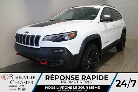 2021 Jeep Cherokee Trailhawk * Int. CUIR & TISSU SPORT * TOIT for Sale  - BC-21177  - Desmeules Chrysler