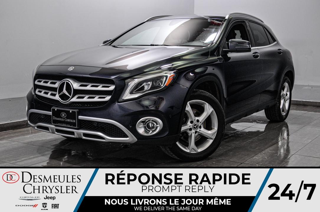 2018 Mercedes-Benz GLA  - Desmeules Chrysler