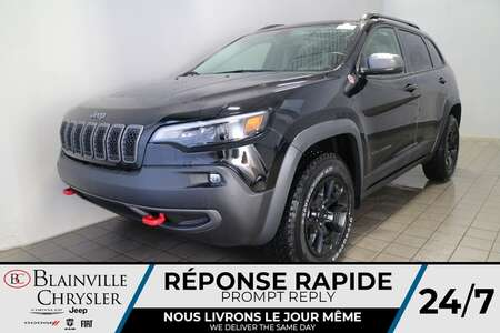 2021 Jeep Cherokee Trailhawk * Int. CUIR & TISSU SPORT * TOIT for Sale  - BC-21239  - Blainville Chrysler