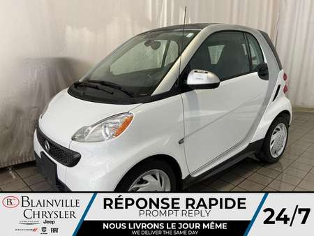 2015 Smart ForTwo PASSION * BLUETOOTH * CUIR * ECONO * PROPRE * for Sale  - BC-20313A  - Desmeules Chrysler