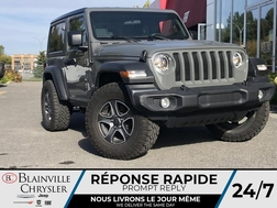 2021 Jeep Wrangler FREEDOM TOP * SIEGES + VOLANT CHAUFFANTS *  - BC-D2483A  - Desmeules Chrysler