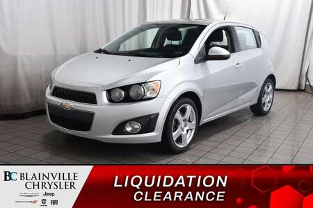 2014 Chevrolet Sonic LT * CAMERA DE RECUL * BLUETOOTH * TOIT OUVRANT * for Sale  - BC-D1829A  - Blainville Chrysler