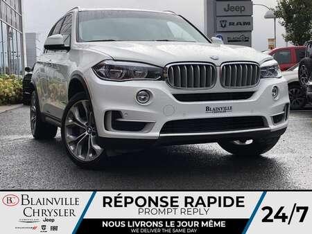 2017 BMW X5 XDRIVE 35i * CUIR CHAUFFANT AV./ ARR* NAVIGATION * for Sale  - BC-A2430A  - Blainville Chrysler