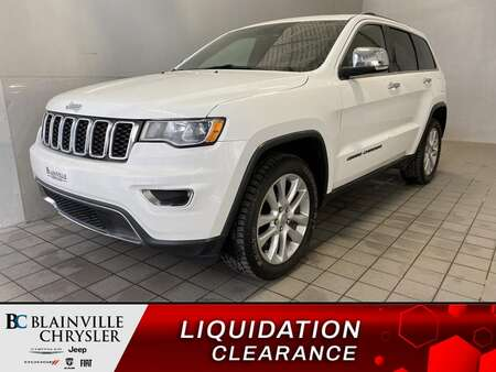 2017 Jeep Grand Cherokee Limited GPS * CAM RECUL * 4 SIEGES CHAUFFANTS for Sale  - BC-21430A  - Blainville Chrysler