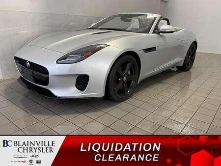 2018 Jaguar F-TYPE 296HP * GPS * CAM RECUL * CONVERTIBLE for Sale  - BC-S2063  - Blainville Chrysler