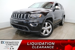 2018 Jeep Grand Cherokee LIMITED 4X4 * UCONNECT 8.4PO * NAVIGATION * CUIR *  - DC-S3024  - Desmeules Chrysler