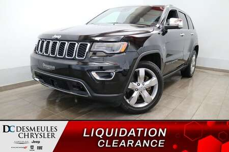 2018 Jeep Grand Cherokee LIMITED 4X4 * UCONNECT 8.4PO * NAVIGATION * CUIR * for Sale  - DC-S3024  - Blainville Chrysler