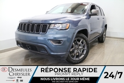 2021 Jeep Grand Cherokee Limited 4X4 * UCONNECT 8.4PO * NAVIGATION * CUIR *  - DC-21696  - Blainville Chrysler