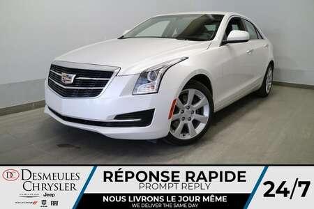 2016 Cadillac ATS Standard AWD * AIR CLIMATISE * CUIR * CAM DE RECUL for Sale  - DC-S2640  - Desmeules Chrysler