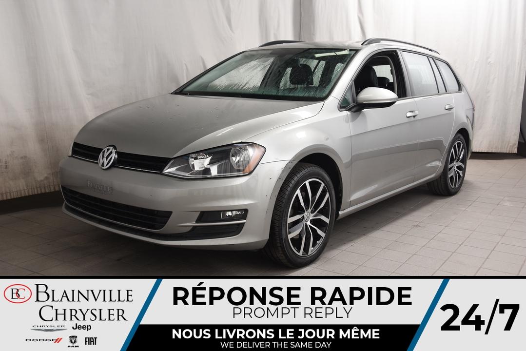 2017 Volkswagen Golf SportWagen  - Blainville Chrysler