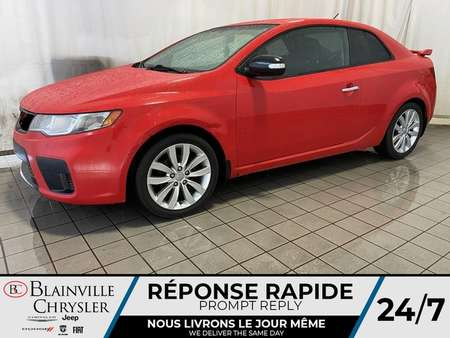 2010 Kia FORTE KOUP EX * SIEGES CHAUFFANTS * BLUETOOTH * NOUVEAU for Sale  - BC-AMB1234  - Blainville Chrysler