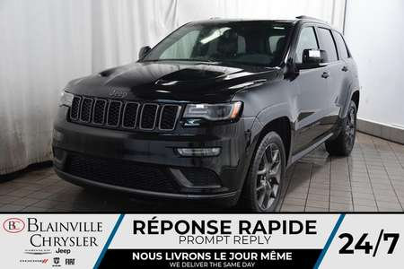 2020 Jeep Grand Cherokee Limited X + Toit Ouvr Pano + GPS + Cam Rec for Sale  - BCDL-20130  - Desmeules Chrysler