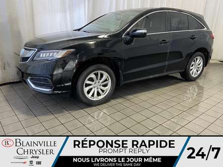 2017 Acura RDX Tech * CAM RECUL * CRUISE ADAPTATIF * LANE ASSIST for Sale  - BC-C1720  - Blainville Chrysler