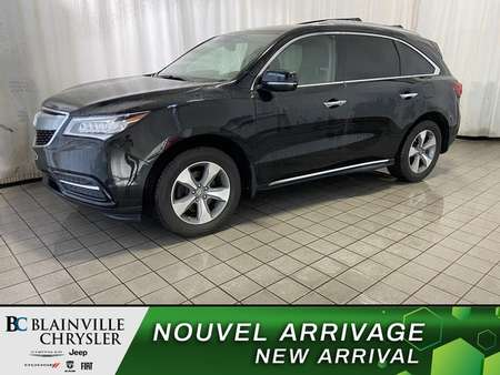 2016 Acura MDX 3.5L * AWD * CUIR * CRUISE ADAPTATIF * LANE KEEP for Sale  - BC-C1727  - Blainville Chrysler