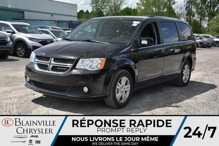 2020 Dodge Grand Caravan Crew Plus * CUIR * AC * STOW N GO* SUPER CONSOLE * for Sale  - BC-20272  - Blainville Chrysler