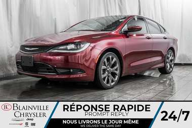 2016 Chrysler 200 S *