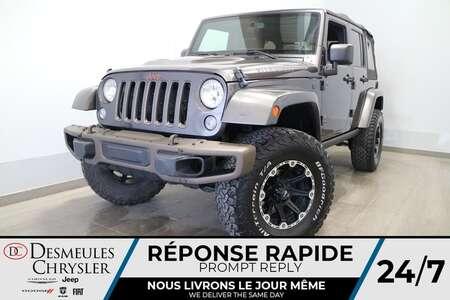 2017 Jeep Wrangler Unlimited 4X4 * NAVIGATION * SIEGES CHAUFFANTS * for Sale  - DC-21697A  - Desmeules Chrysler