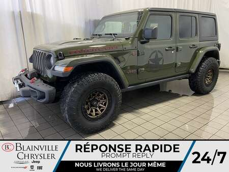 2021 Jeep Wrangler Rubicon Black Ops Edition for Sale  - BC-21009  - Desmeules Chrysler