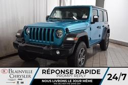 2020 Jeep Wrangler Sport S + Cam Rec + Sièges Chauff + Volant Chauff  - BC-20241  - Desmeules Chrysler