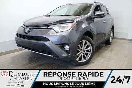 2016 Toyota RAV-4 Limited AWD * NAVIGATION * TOIT OURANT * CUIR * for Sale  - DC-U2596A  - Blainville Chrysler