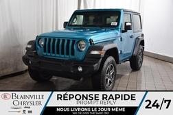 2020 Jeep Wrangler Sport S + Démarreur Dist + Cam Rec + Sièges Chauff  - BC-20246  - Desmeules Chrysler