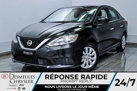 2018 Nissan Sentra S + bancs chauff + cam recul + a/c for Sale  - DC-D1711A  - Desmeules Chrysler