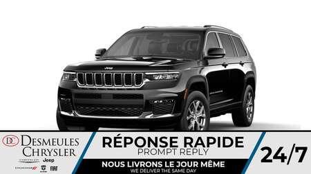 2021 Jeep Grand Cherokee L Limited L 4X4 * NAVIGATION * UCONNECT 10.1 POUCES for Sale  - DC-O05208  - Desmeules Chrysler