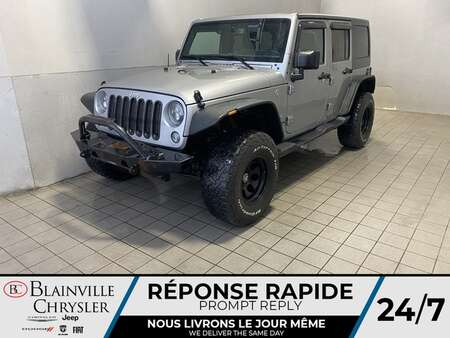 2017 Jeep Wrangler Unlimited * 4X4 * SAHARA * ENSEMBLE DEUX TOITS * for Sale  - BC-21590A  - Blainville Chrysler