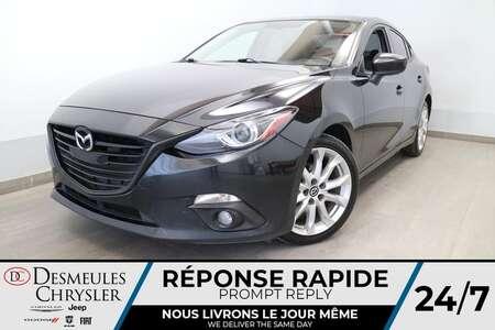 2015 Mazda Mazda3 s Grand Touring * NAVIGATION * CAMERA DE RECUL * for Sale  - DC-U2773A  - Blainville Chrysler