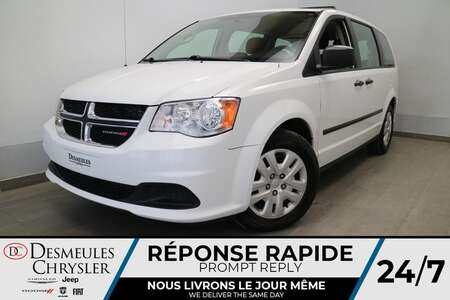 2017 Dodge Grand Caravan VALUE PACKAGE * AIR CLIMATISE * CRUISE * for Sale  - DC-S2865  - Desmeules Chrysler