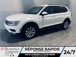 2018 Volkswagen Tiguan CRUISE * SIEGES CHAUFFANT * CAM DE RECUL * WOW  - BC-21398A  - Desmeules Chrysler