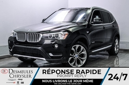 2017 BMW X3 xDrive28i * CAM RECUL * SIEGES CHAUFFANTS * GPS  - DC-S2371  - Blainville Chrysler