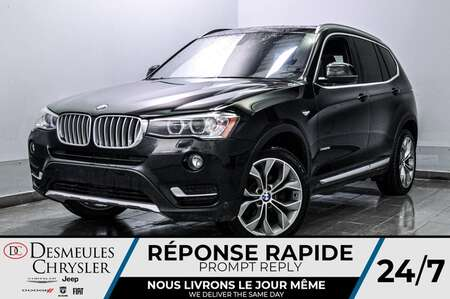 2017 BMW X3 xDrive28i * CAM RECUL * SIEGES CHAUFFANTS * GPS for Sale  - DC-S2371  - Desmeules Chrysler
