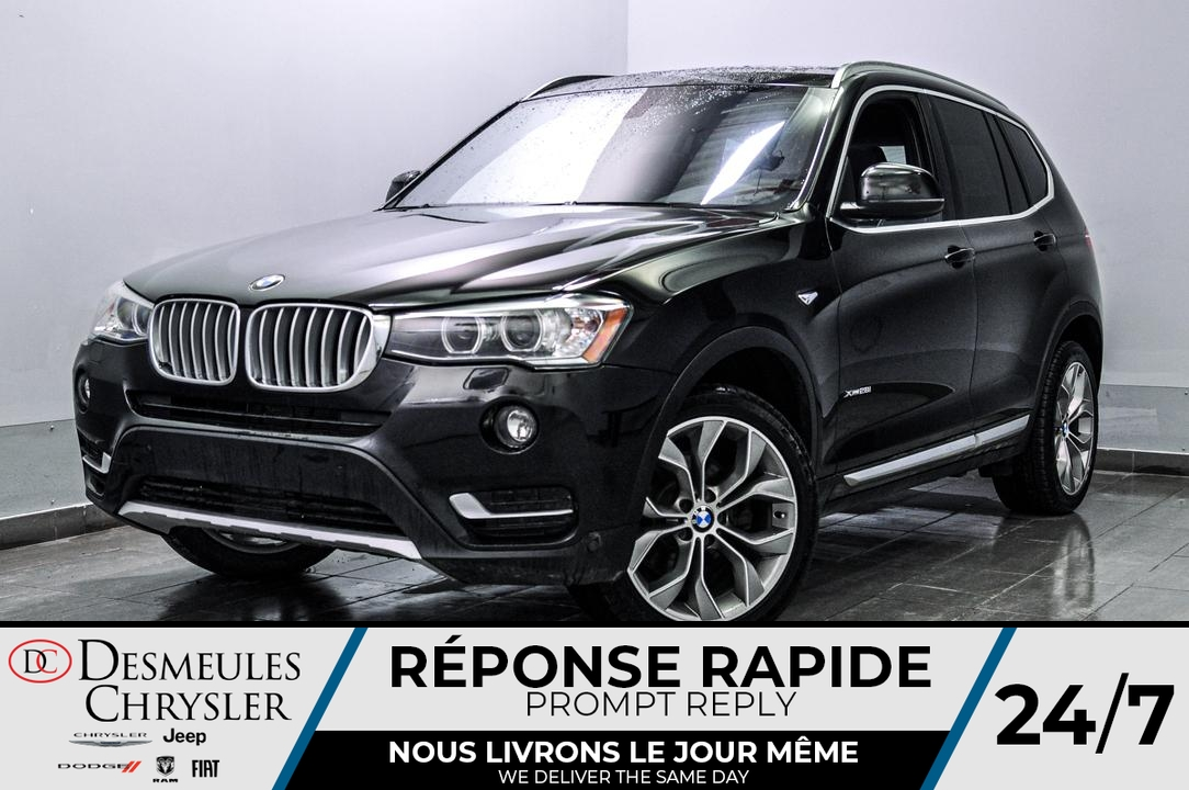 2017 BMW X3  - Blainville Chrysler