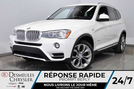 2017 BMW X3 xDrive28i for Sale  - DC-L2082  - Desmeules Chrysler
