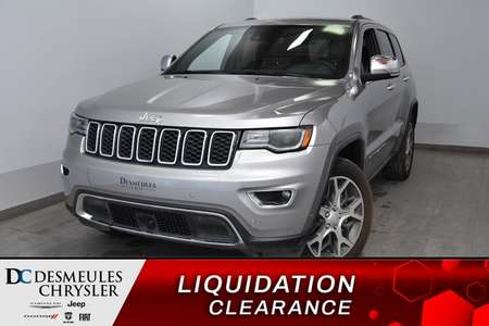 2019 Jeep Grand Cherokee Limited + UCONNECT + BANCS CHAUFF 134$/sem for Sale  - DC-90417  - Desmeules Chrysler