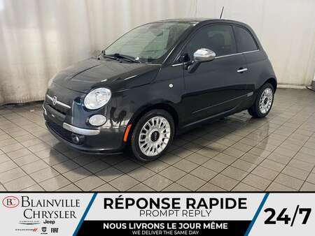 2013 Fiat 500 BLUETOOTH * TOIT OUVRANT * SIEGES CHAUFFANTS for Sale  - BC-21075A  - Blainville Chrysler