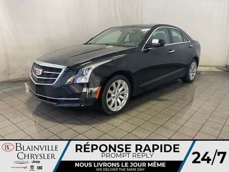 2017 Cadillac ATS AWD * CAM RECUL * SIEGES CHAUFFANTS * TOIT OUVRANT for Sale  - BC-P1918  - Desmeules Chrysler