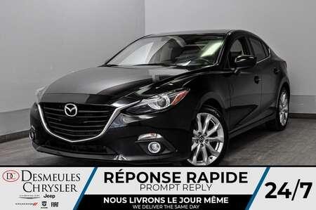 2016 Mazda Mazda3 GT + toit ouv + bancs chauff + cam recul + a/c for Sale  - DC-L2021  - Desmeules Chrysler