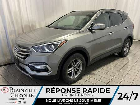 2017 Hyundai Santa Fe Sport CUIR * CAMERA RECUL *  BLUETOOTH for Sale  - BC-C1670  - Desmeules Chrysler
