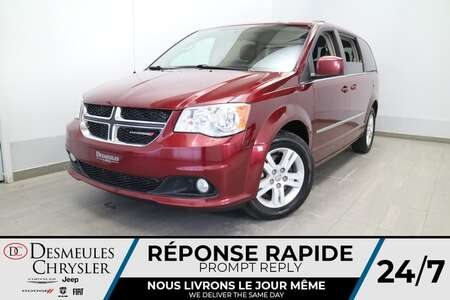 2017 Dodge Grand Caravan Crew * AUTOMATIQUE * A/C * 7 PASSAGERS * CRUISE * for Sale  - DC-20657B  - Blainville Chrysler