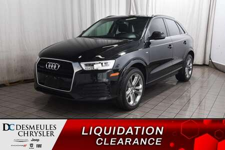 2017 Audi Q3 PRESTIGE * CUIR * TOIT PANORAMIQUE * NAVIGATION * for Sale  - BC-S1770  - Desmeules Chrysler