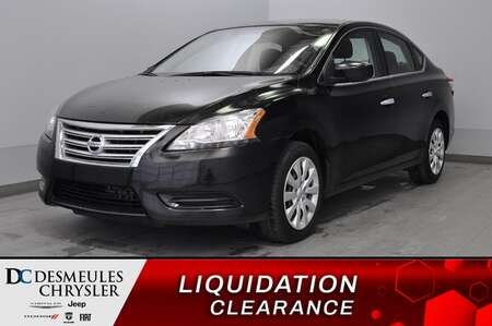 2015 Nissan Sentra FE+ S + a/c + bluetooth for Sale  - DC-L2100  - Desmeules Chrysler