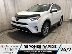 2016 Toyota RAV-4 Limited AWD * CAM RECUL * SIEGES CHAUFFANTS *  - BC-P1991A  - Desmeules Chrysler