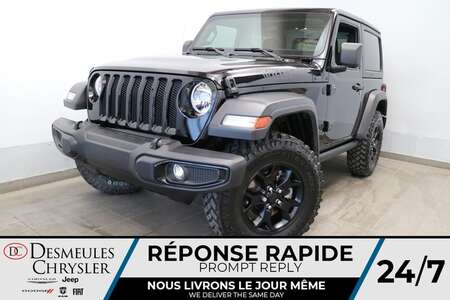 2021 Jeep Wrangler WILLYS 4X4 * UCONNECT * CAMERA DE RECUL * CRUISE * for Sale  - DC-R2867  - Desmeules Chrysler