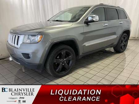 2013 Jeep Grand Cherokee Overland * NAV * CAM RECUL * CUIR * TOIT PANO * for Sale  - BC-ETI123  - Desmeules Chrysler